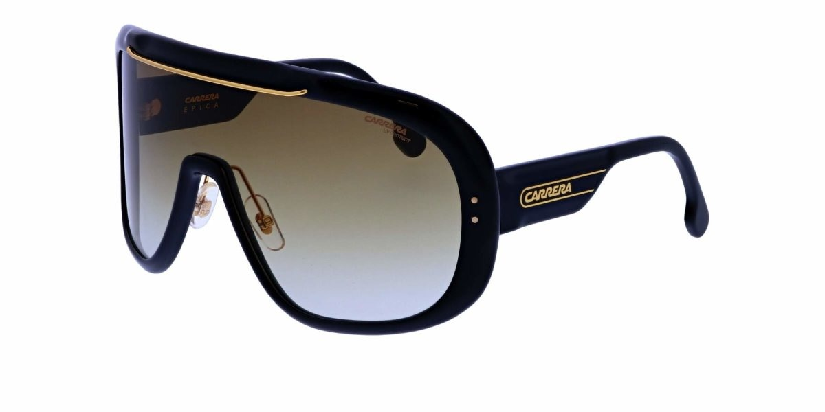 40dffb6f64 lentes de sol carrera car epica 80786 negro/oro para hombre. Cargando zoom.