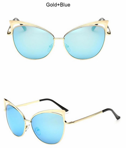 lentes de sol cat eye para damas uv400