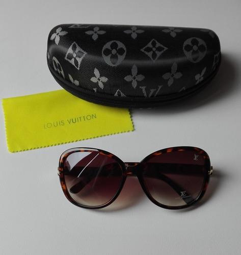 lentes de sol celebridad mujer estuche nuevos lv mk guess
