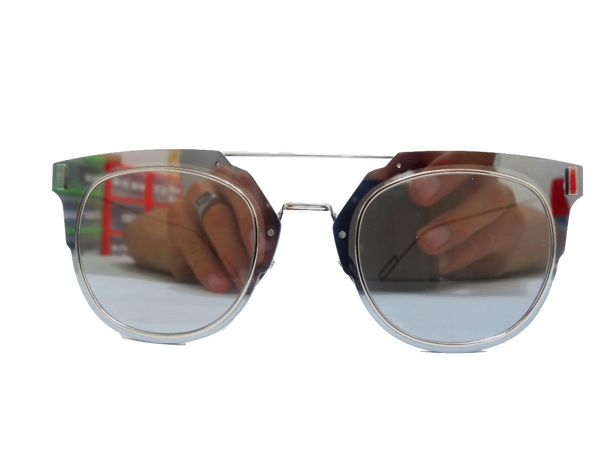 0007d845a1 lentes de sol christian dior composit 1.0/ 0100t gris plata. Cargando zoom.