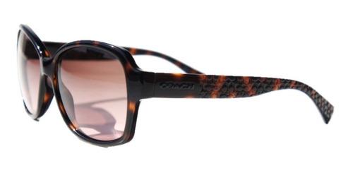 lentes de sol coach barbara dark tortoise mod. l934