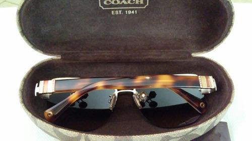 lentes de sol coach originales modelo aviador para damas