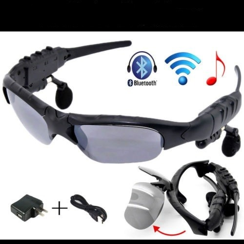 Lentes De Sol Con Bluetooth Y Reproductor De Mp3 Manos