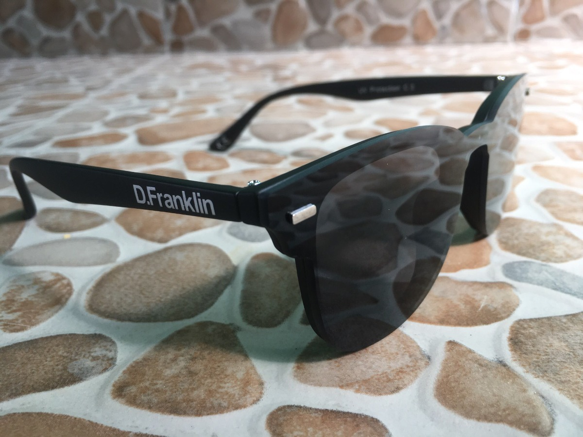 74696c1027 Lentes De Sol D. Franklin Orion Black - $ 630.00 en Mercado Libre