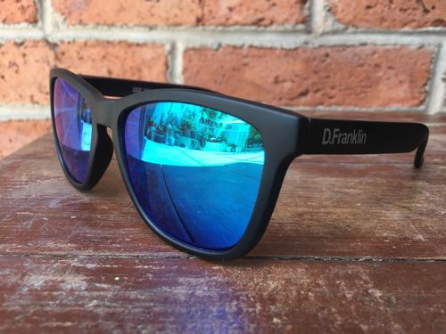 lentes de sol d. franklin roosevelt black matte blue