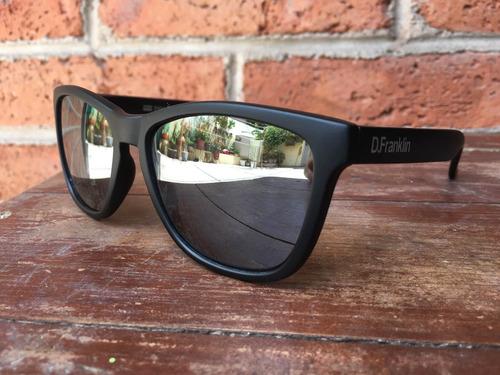 lentes de sol d. franklin roosevelt black matte espejo