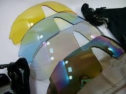 lentes de sol deportivo hasky con 5 micas intercambiables