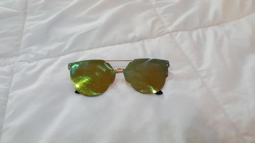 lentes de sol espejo colores amarillo verde azul