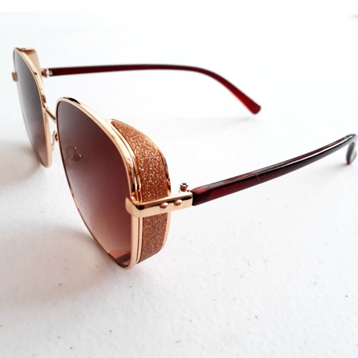 72d19b6df5 lentes de sol estilo matsuda de dama cafe moda verano 2019. Cargando zoom.