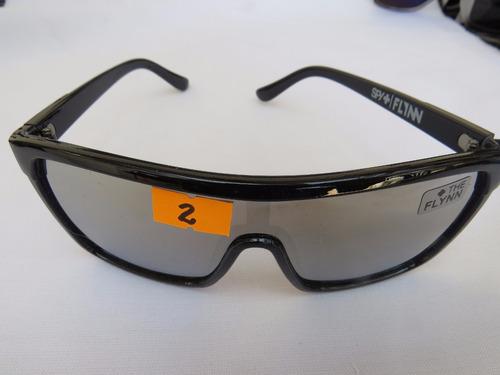 lentes de sol, flynn -spy ,uv-400l +accesorios +caja.