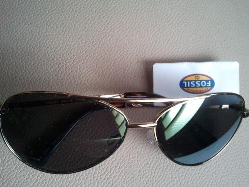 lentes de sol fosil espejo
