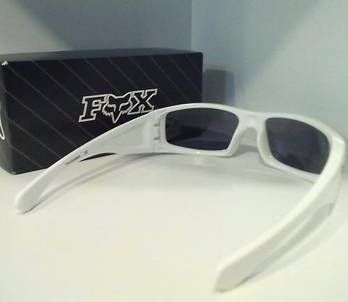 lentes de sol fox the condition blancos originales!!!