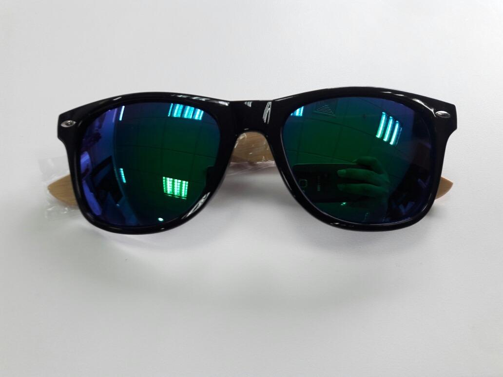 Lentes De Sol Gafas Con Marco De Madera Bamboo Para Verano - S/ 35 ...