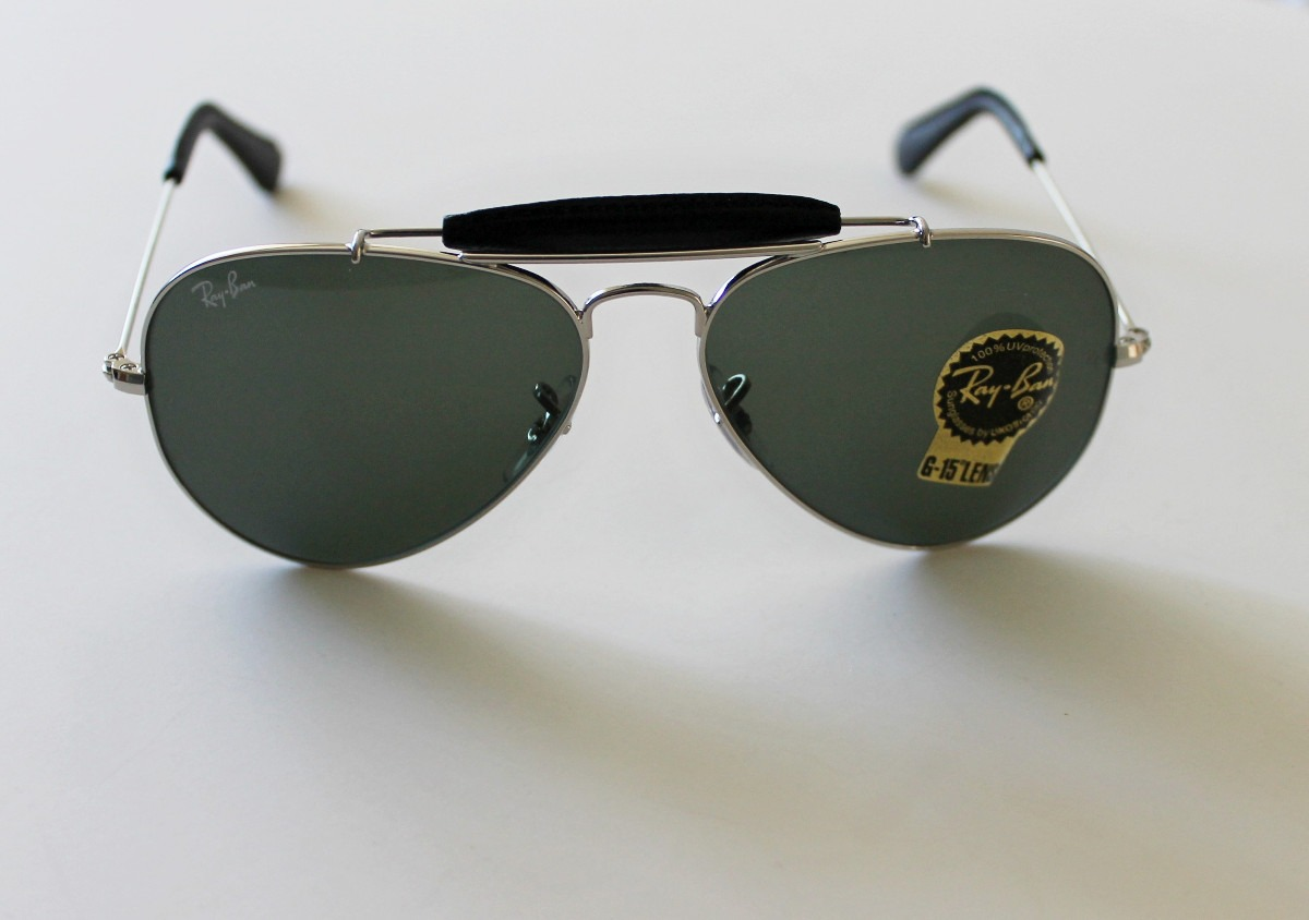 89046daa73 lentes de sol gafas ray ban outdoorsman aviator cuero D NQ NP 9368  MLC20014957433 122013 F