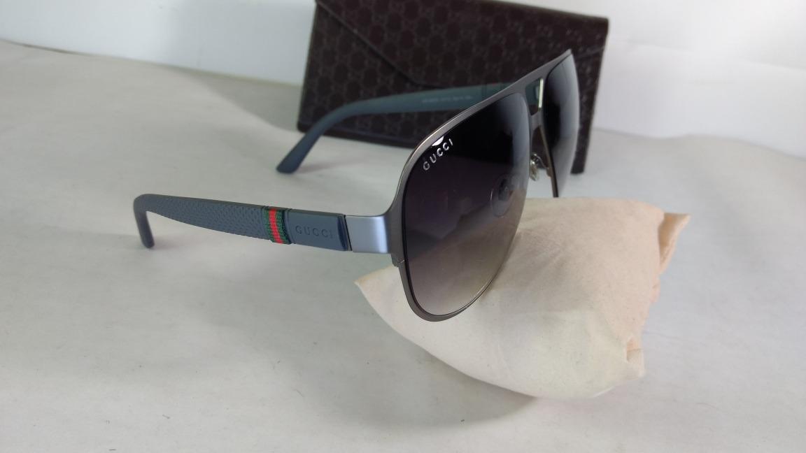 96a0b4c5ad1 lentes de sol gucci 2252 s gris. Cargando zoom.