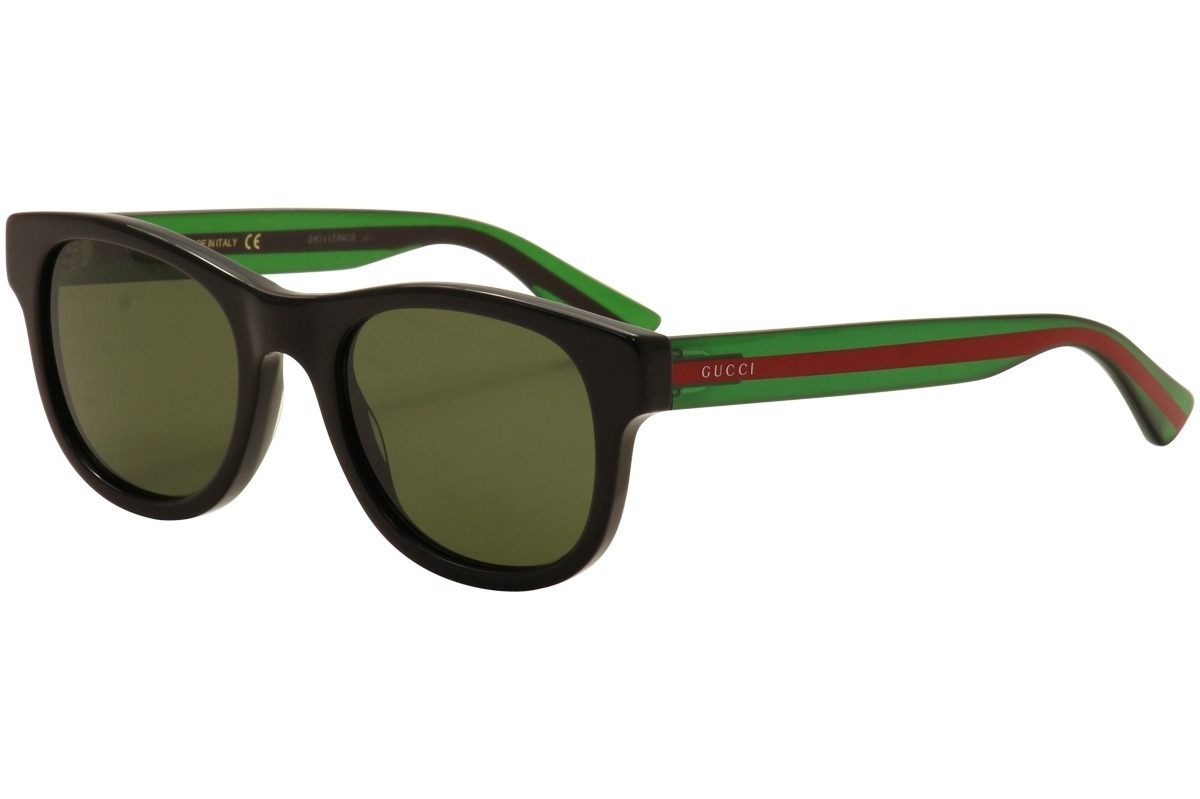 c00827038a9 Lentes De Sol Gucci Gg0003s 002 Negro verde Hombre Original ...
