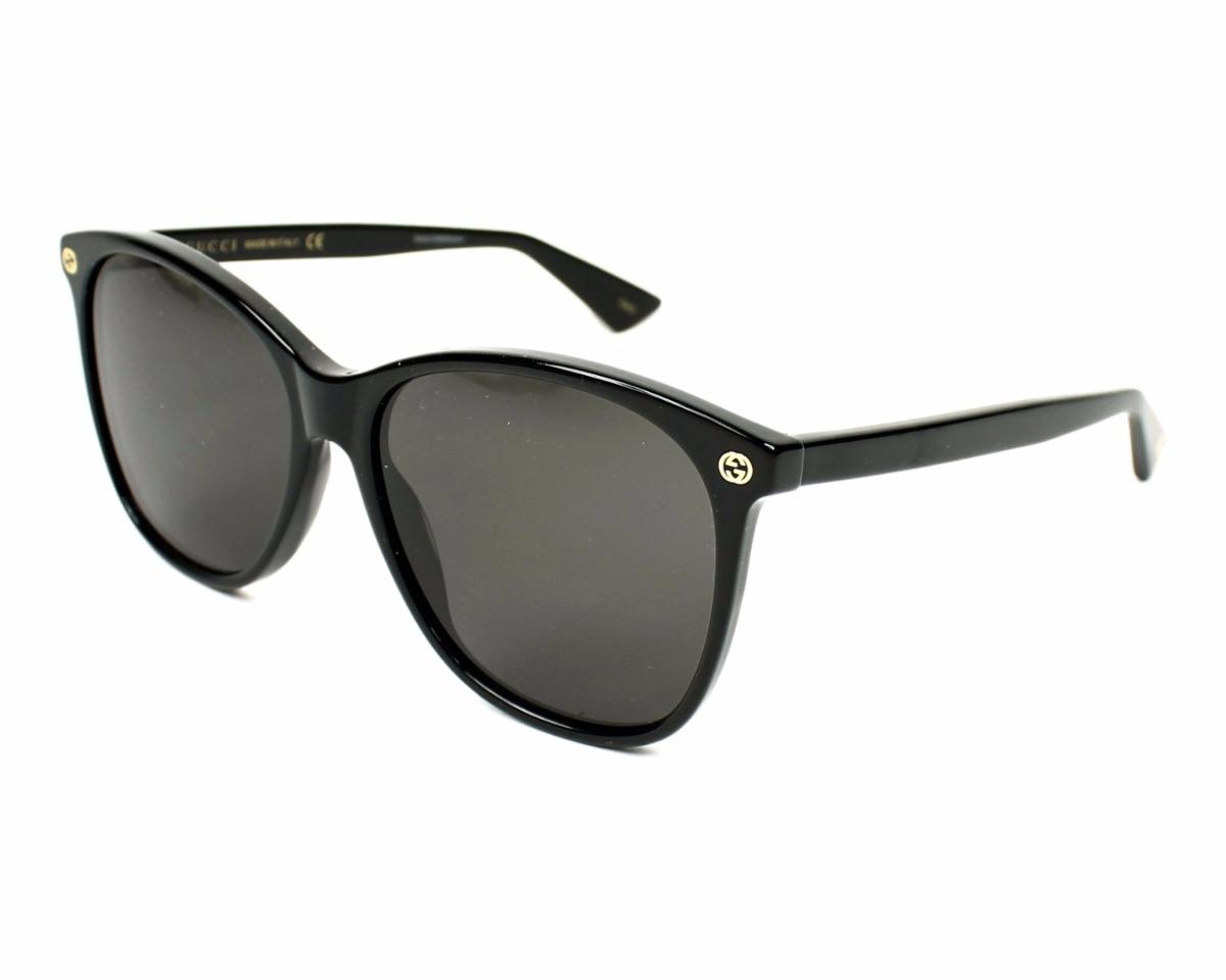 ea45e705135 Lentes De Sol Gucci Gg0024s 001 Dama Negro 100% Original ...