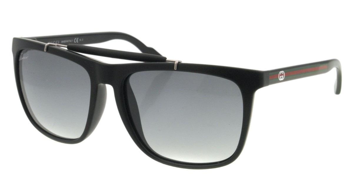 618fea750da Lentes De Sol Gucci Sunglasses Gg 3588 s Black - S  714