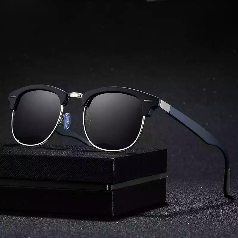 Frienda 2 Pares de Gafas de Sol Ovales Vintage Peque/ñas Mini Gafas Redondas Novedosas para Mujeres Hombres con Lentes Gris y Marco Negro