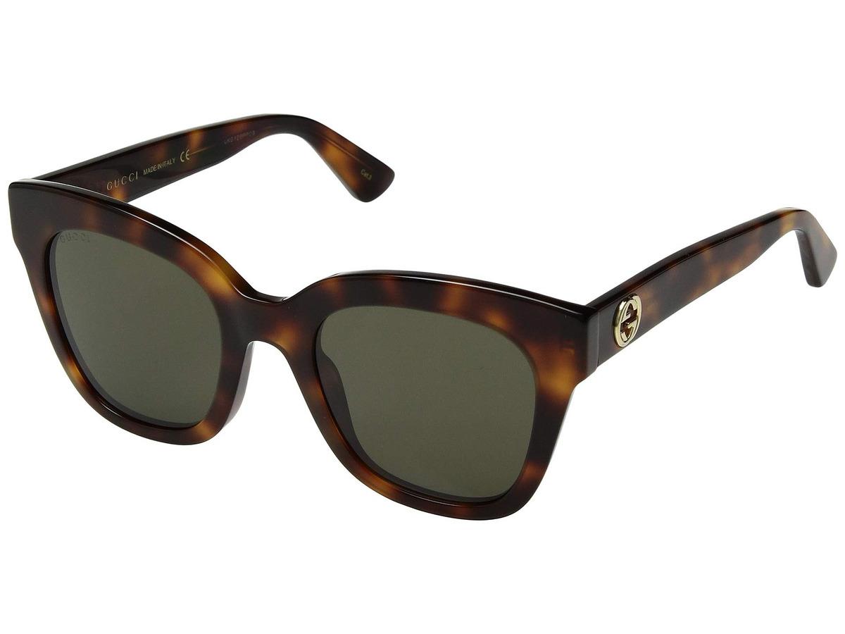 0f6c8ffa73 Lentes De Sol Hombre Gucci Gg0029s Sunglasses - S/ 1.159,00 en ...