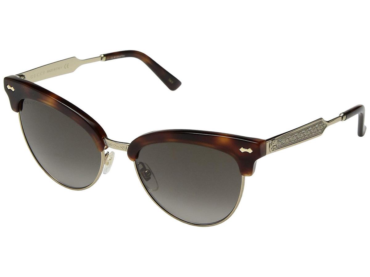b46b530456 Lentes De Sol Hombre Gucci Gg0055s - S/ 1.249,00 en Mercado Libre