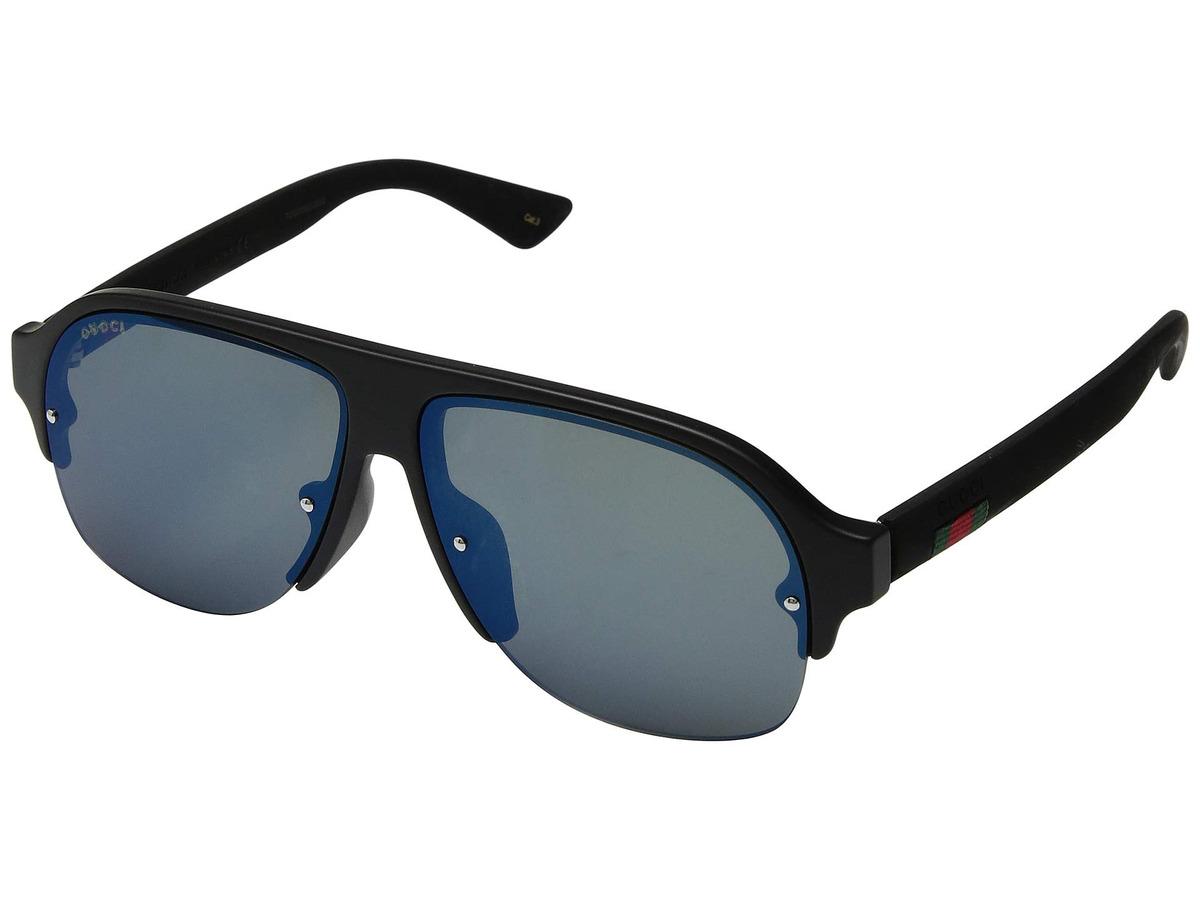 f0ee10a4c3 Lentes De Sol Hombre Gucci Gg0172sa Sunglasses - S/ 1.159,00 en ...