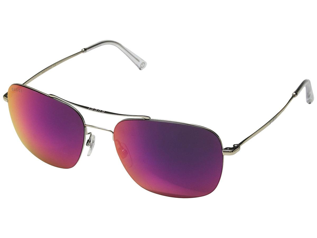 b83cd73e0a Lentes De Sol Hombre Gucci Gg0503s - S/ 1.229,00 en Mercado Libre