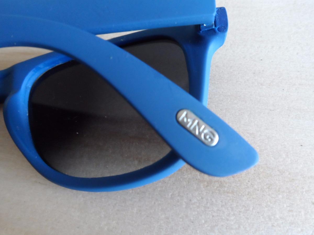 Lentes De Sol Importados Mng Mango Marco Para Reparar Azul - $ 218 ...
