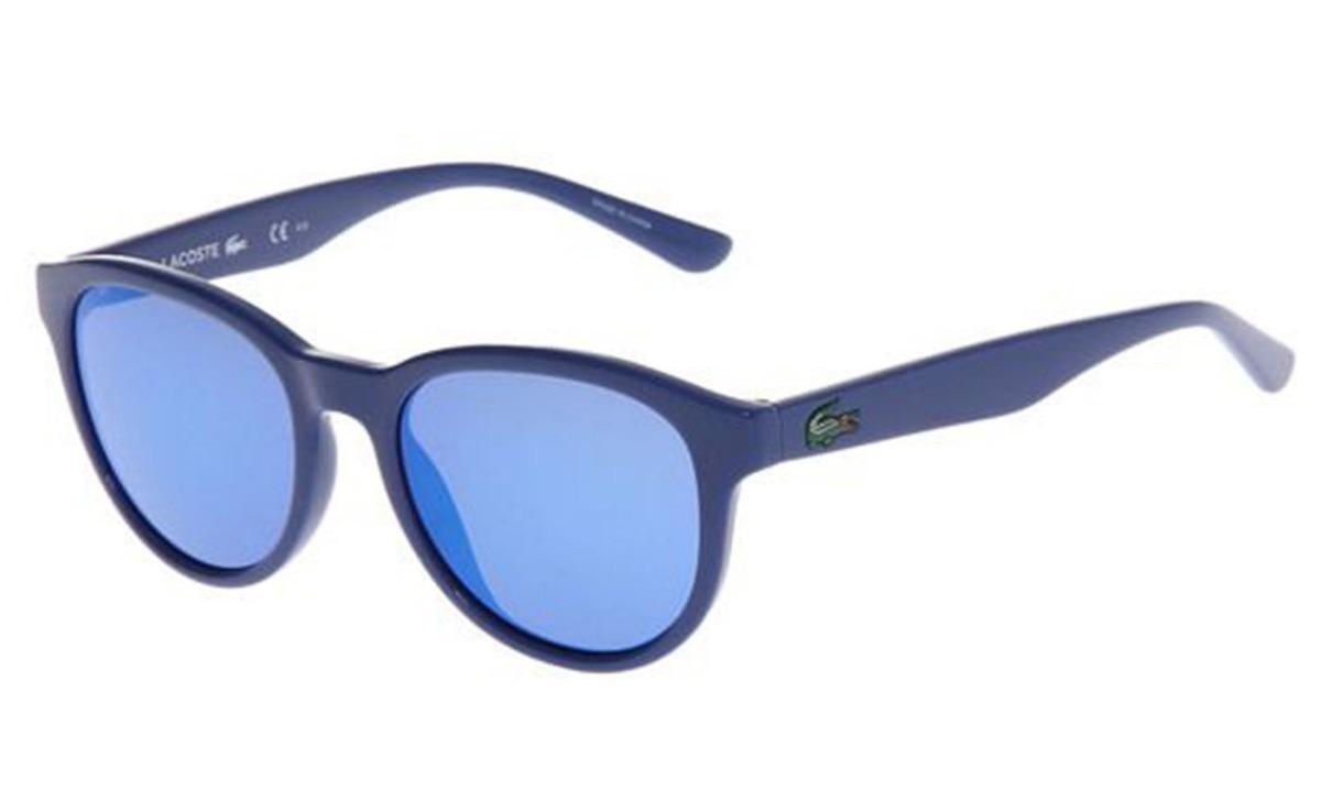 e18a58d1e7 lentes de sol lacoste pantos mica acabado tipo espejo azul. Cargando zoom.