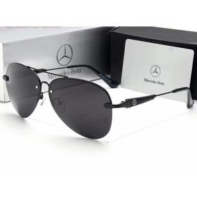 c228ee86e3 Lentes De Sol Mercedes Benz Mb 743 Blanck Matte Polaroid