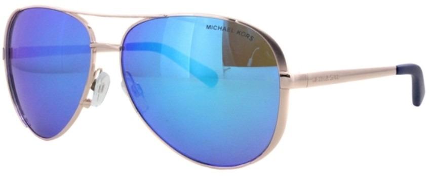b372dedf835 Lentes De Sol Michael Kors Mk 5004 100325 Azul Chelsea -   2