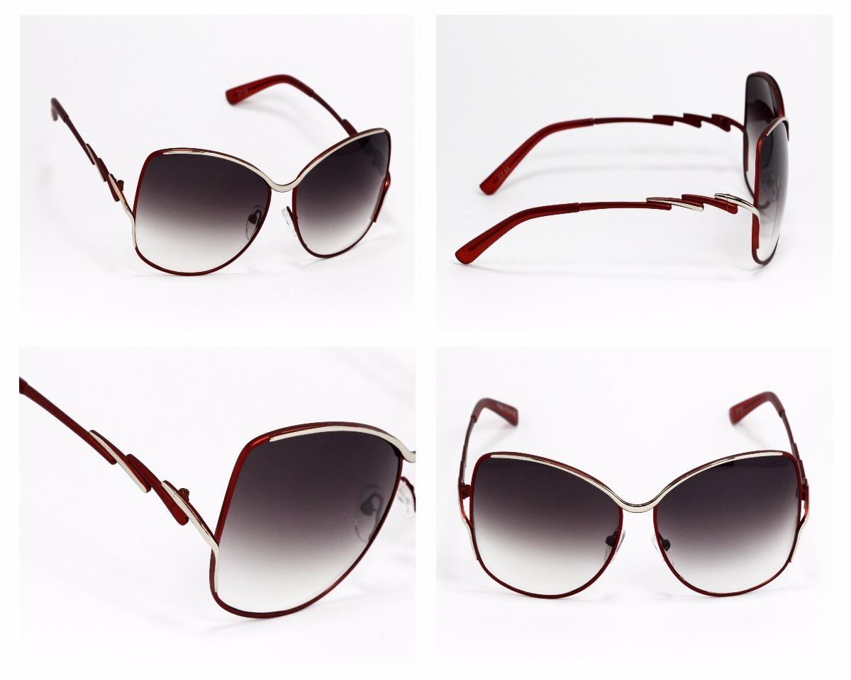5ba7d10ea7 lentes de sol mujer ojo de gato armazón rojo degradado ls101. Cargando zoom.