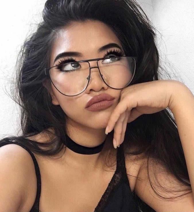 lo último be28a 8aea8 Lentes De Sol Mujer Transparente Moda Fashion Gafas Calidad