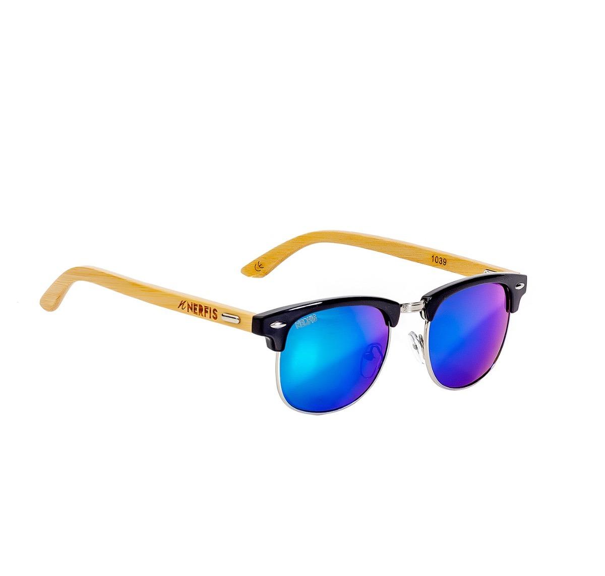 7051a1683f Lentes De Sol Nerfis Prime Bambú Blue - $ 29.990 en Mercado Libre