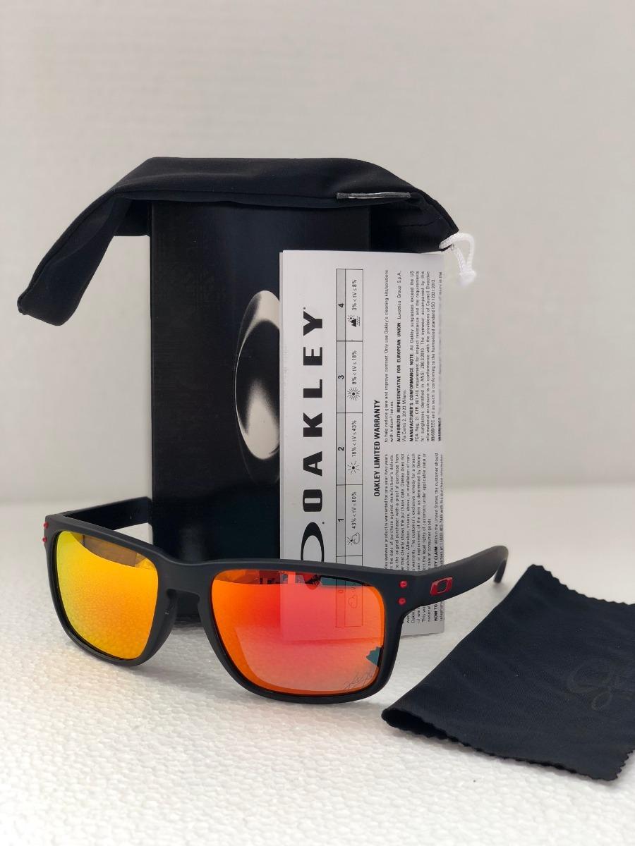 38ed5b824b85e lentes de sol oakley holbrook fire iridium polarized. Cargando zoom.