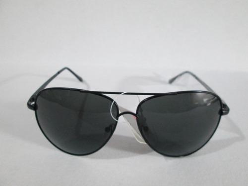 lentes de sol oscuros armazon aviador black vip con envio