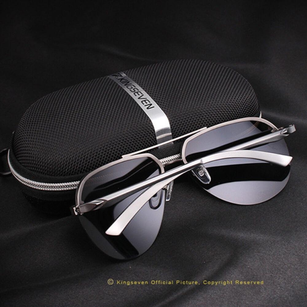 8e988d17ad505 lentes de sol para hombres y mujeres gafas aviador kingseven. Cargando zoom.