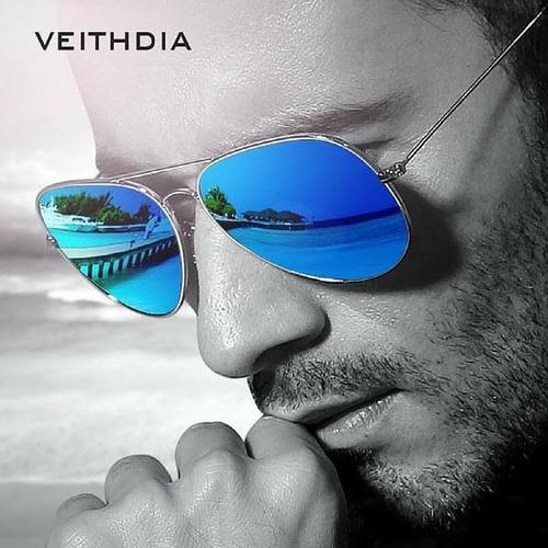 lentes de sol para hombres y mujeres veithdia, gafas aviador