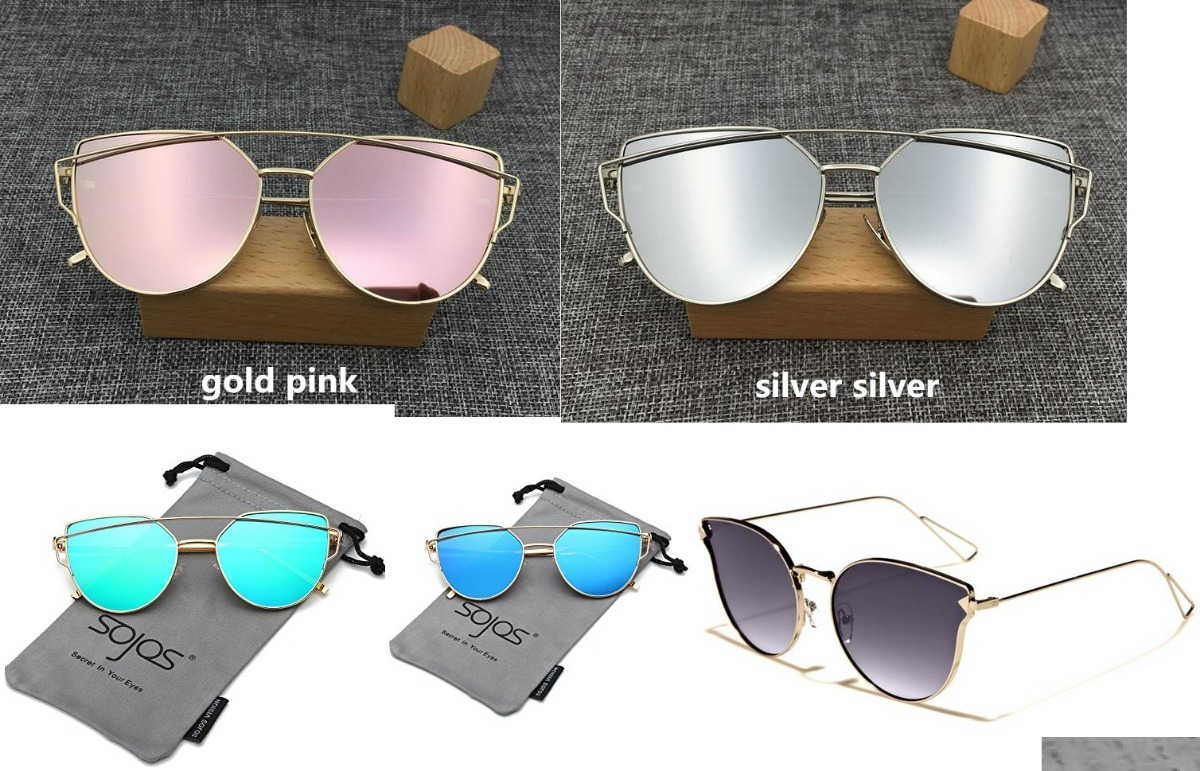 lentes de sol para mujer merrystore ojo de gato doble marco. Cargando zoom. 81808278bfaa