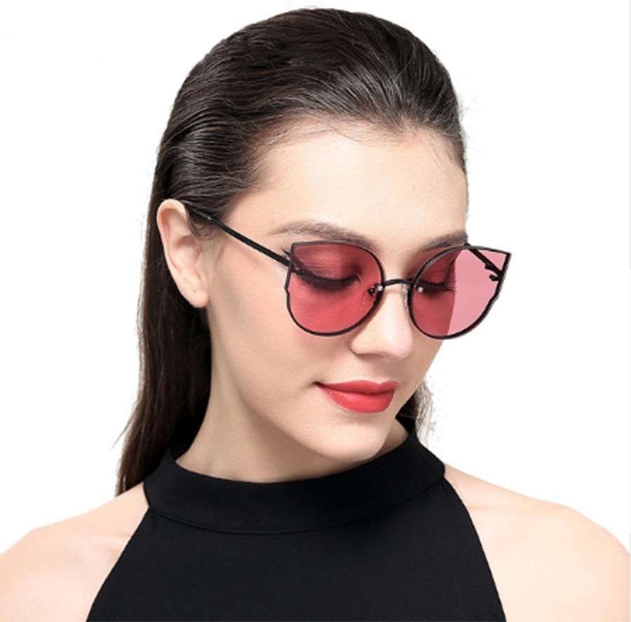 Lentes De Mujer Flame Gafas Eye Polaroid Negro Cat Sol lFcT1JK