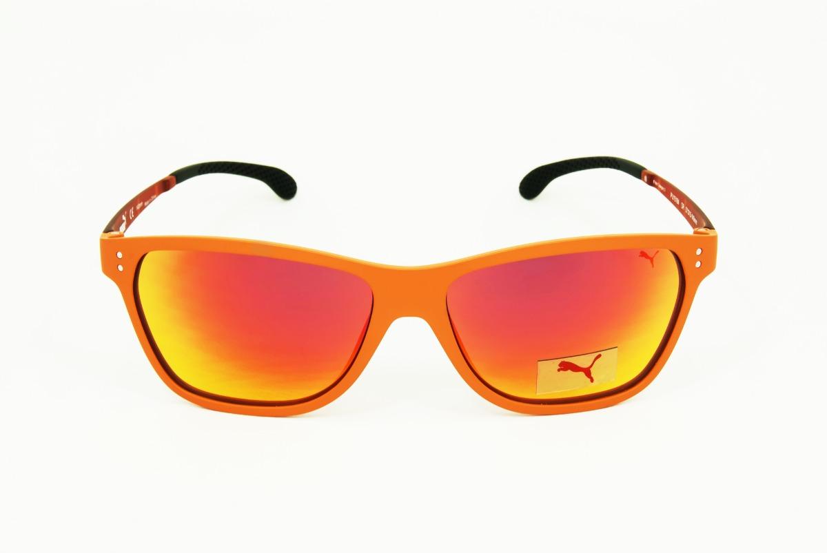 gafas de sol puma naranja