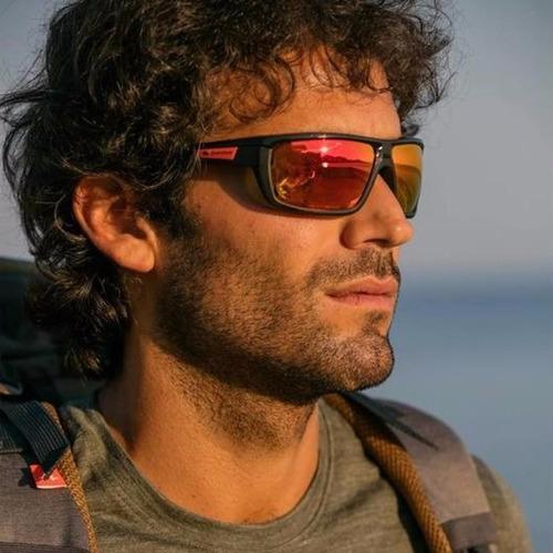 lentes de sol quechua hiking 300 rojo