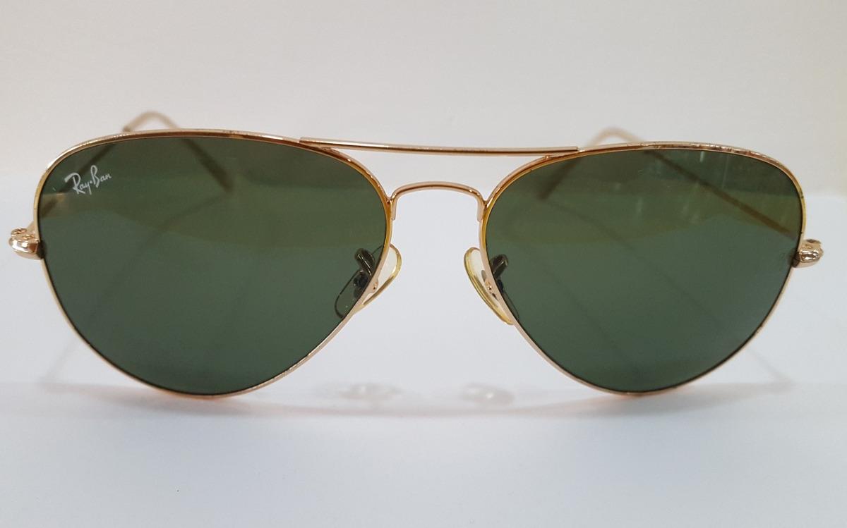 lentes de sol ray ban aviator 3025 100% originales talle l. Cargando zoom. d81fe410f042a