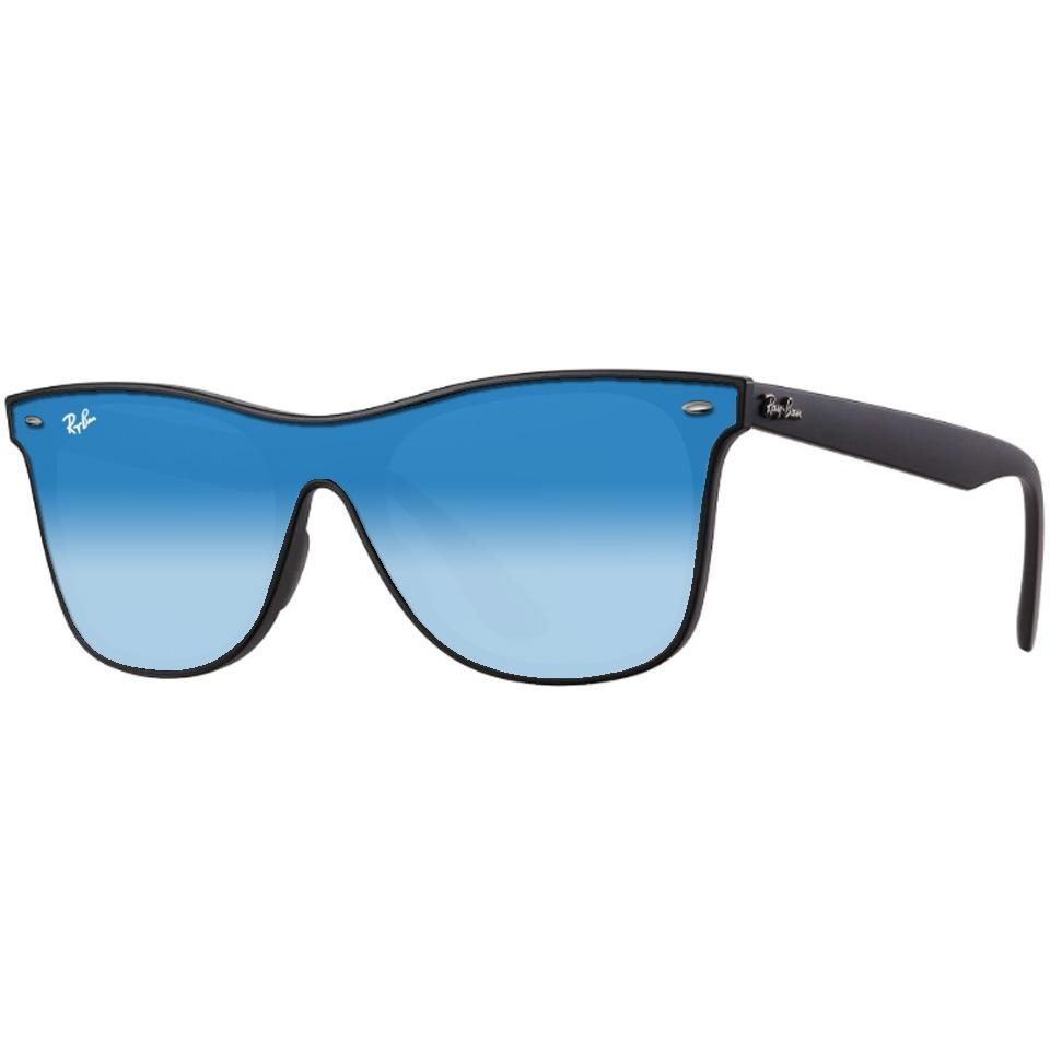6188de2b11 Lentes De Sol Ray Ban Blaze Wayfarer Rb4440 Azul Espejo - $ 2,199.00 ...