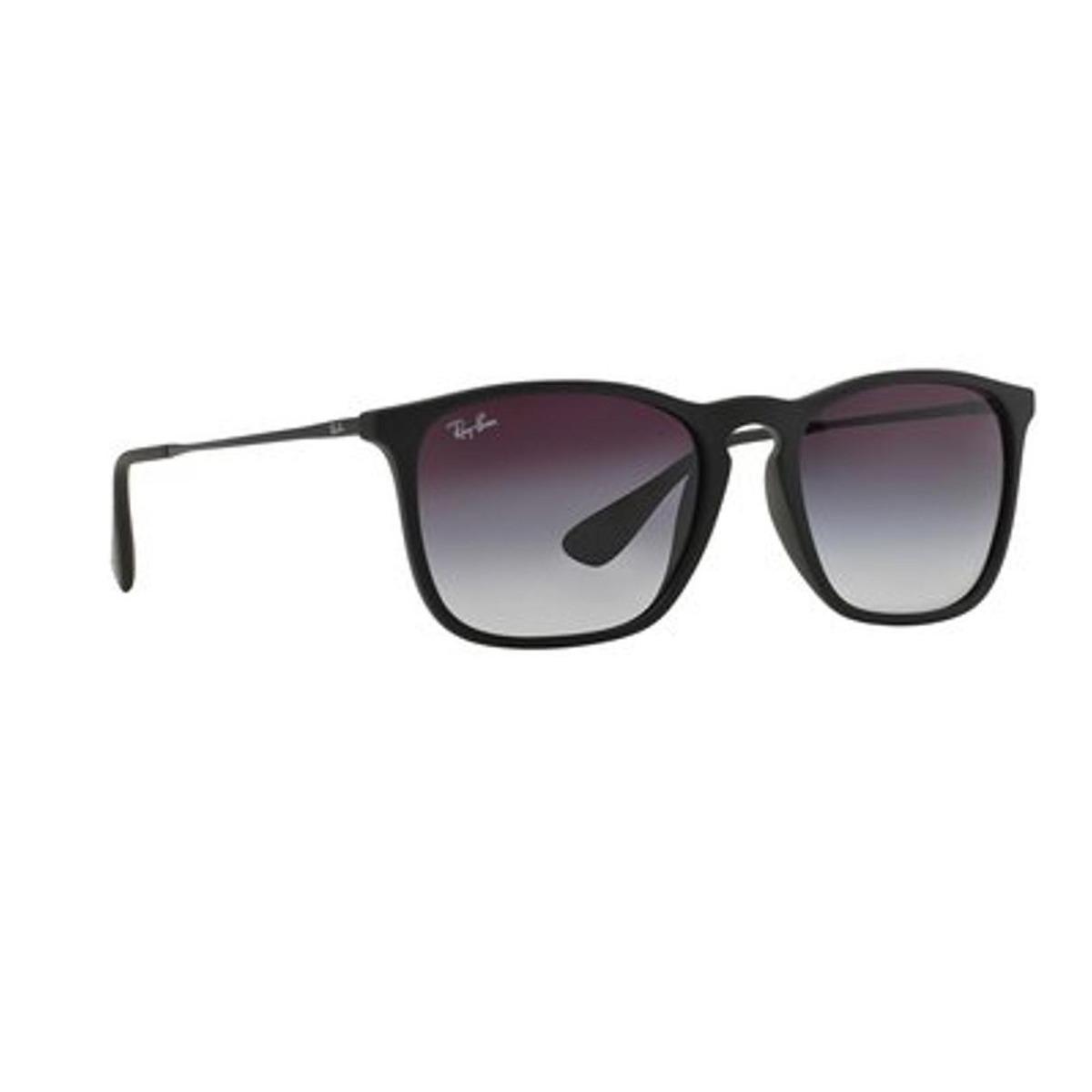 4fa4e10539 Lentes De Sol Ray-ban Chris Para Hombre-gris - $ 5,577.00 en Mercado ...