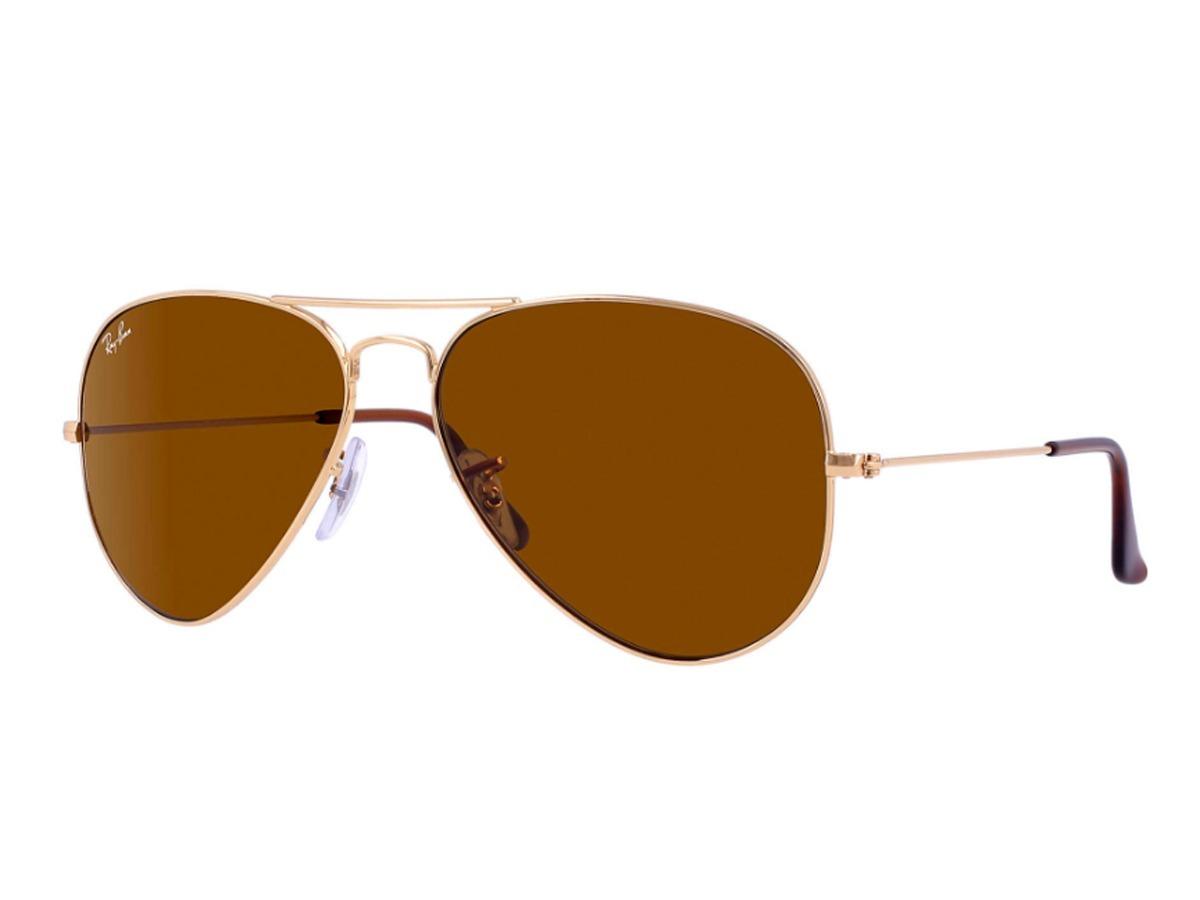 9f86c54633 lentes de sol ray ban modelo aviator, rb3025 001/33-marrón. Cargando zoom.