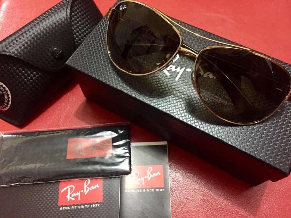 1b146390c5 Lentes De Sol Ray Ban Original Nuevos En Caja - S/ 210,00 en Mercado ...