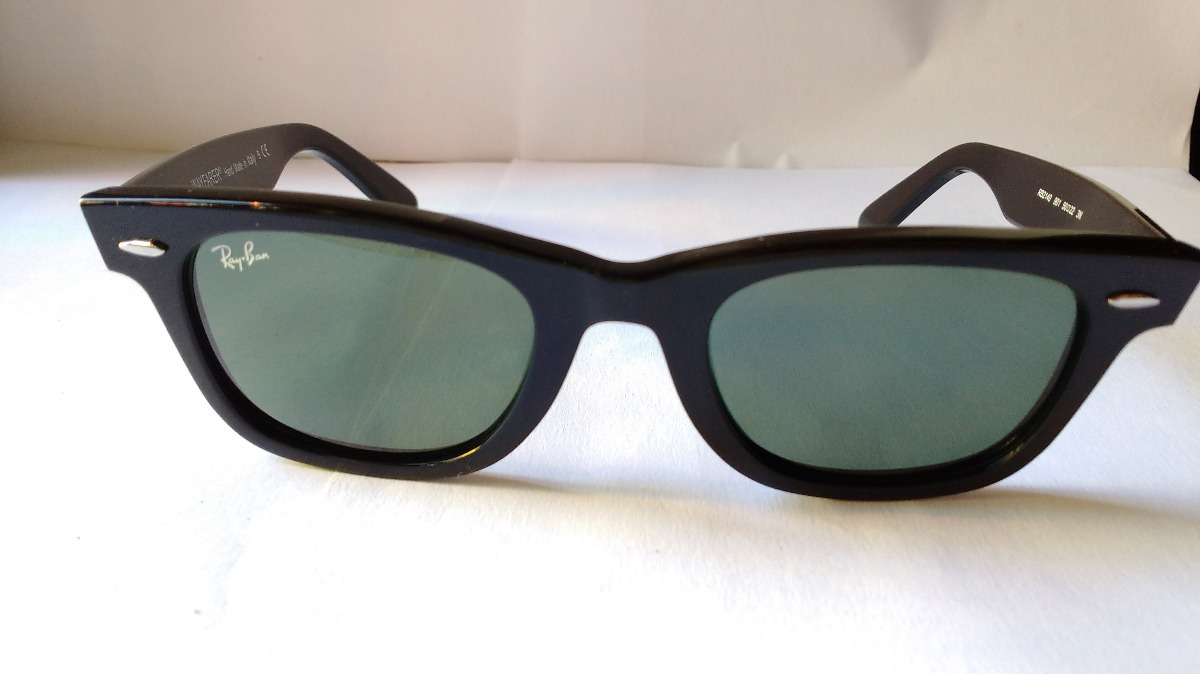 97c14d070f lentes de sol ray ban rb2140 wayfarer classic black original ...