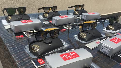 lentes de sol ray ban wayfarer 2140 50mm 54mm, originales!!!