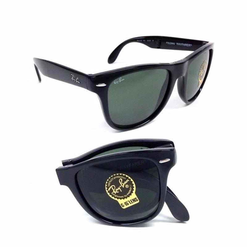 f22e5dacf ... release date lentes de sol ray ban wayfarer folding original italianos. cargando  zoom. 70539